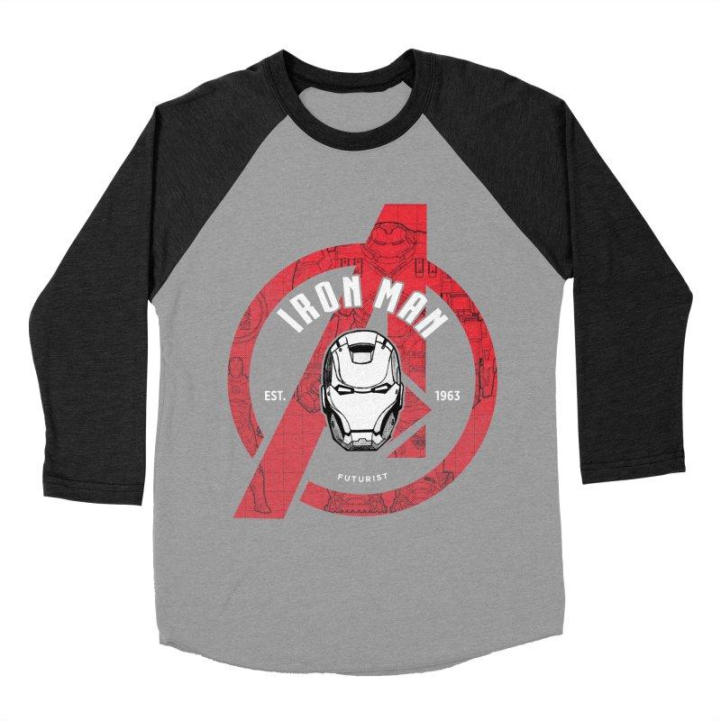 Avengers Assemble: Iron Avengers Women's Baseball Triblend T-Shirt by halfcrazy designs