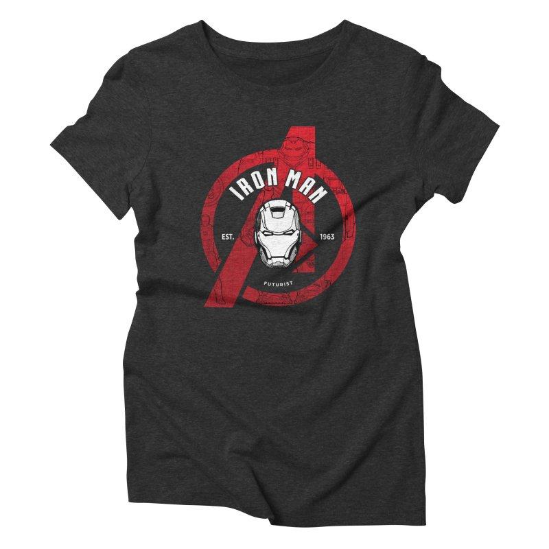 Avengers Assemble: Iron Avengers Women's T-Shirt by halfcrazy designs