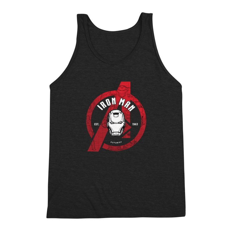 Avengers Assemble: Iron Avengers Men's Triblend Tank by halfcrazy designs