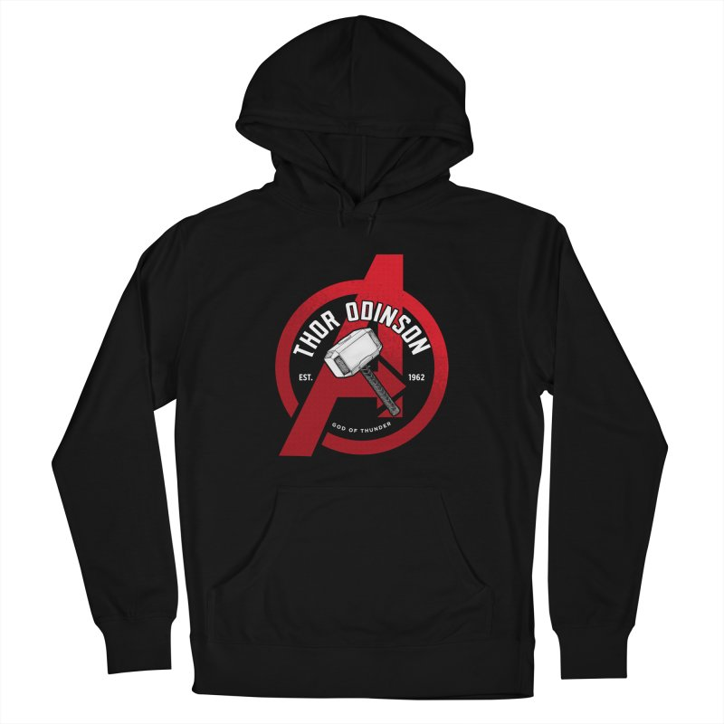 Avengers Assemble: God Of Thunder Men's Pullover Hoody by halfcrazy designs