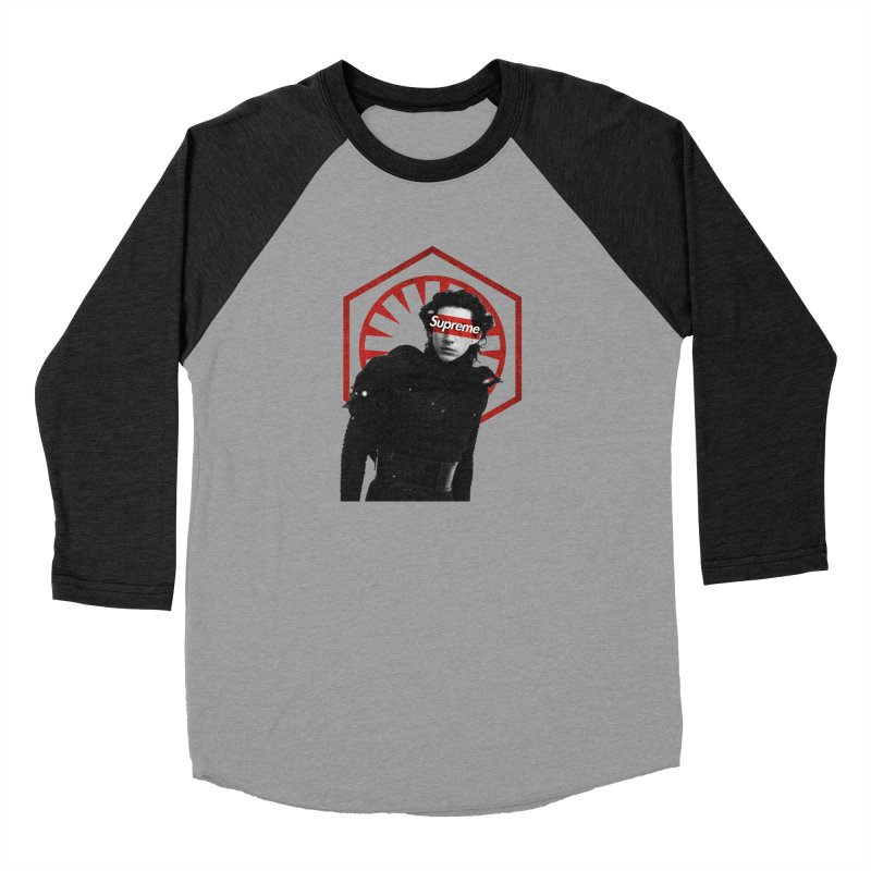 Supreme Leader - Kylo Men's Longsleeve T-Shirt by halfcrazy designs