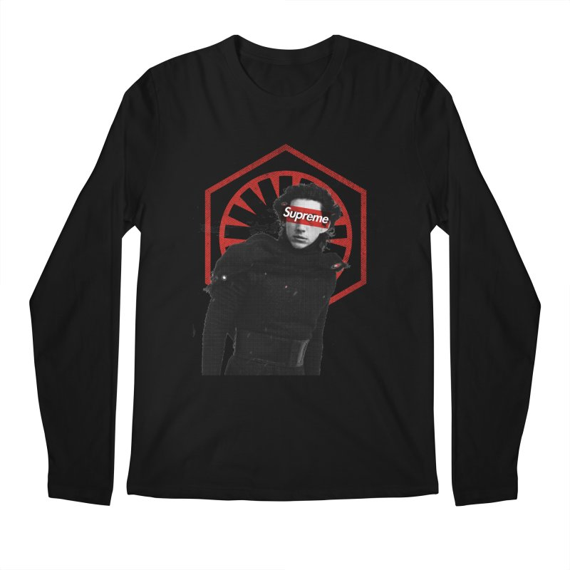 Supreme Leader - Kylo Men's Regular Longsleeve T-Shirt by halfcrazy designs