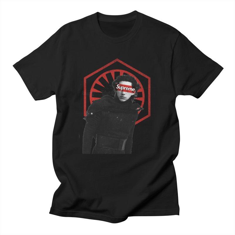 Supreme Leader - Kylo Men's T-Shirt by halfcrazy designs