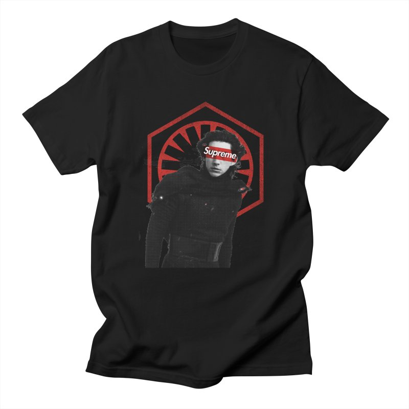 Supreme Leader - Kylo Men's Regular T-Shirt by halfcrazy designs