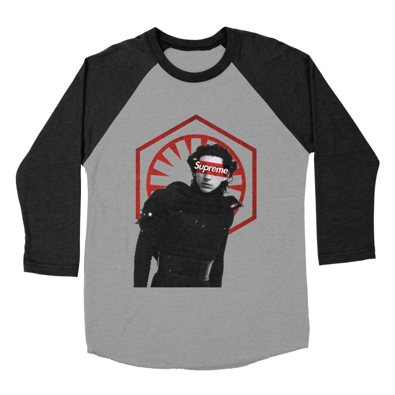 Supreme Leader - Kylo Men's Baseball Triblend T-Shirt by halfcrazy designs
