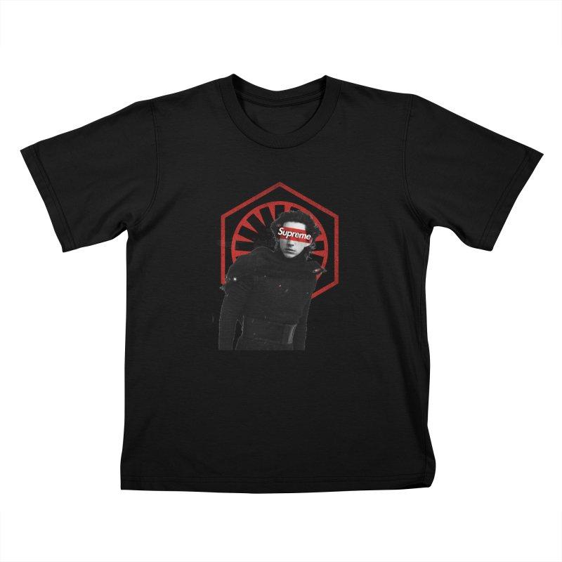 Supreme Leader - Kylo Kids Toddler T-Shirt by halfcrazy designs