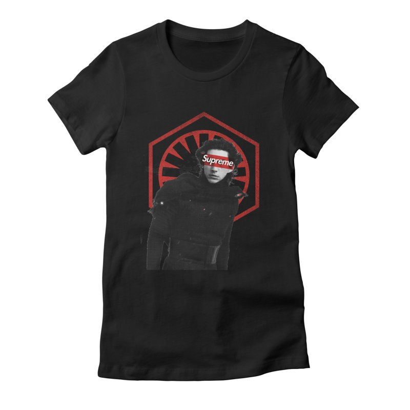 Supreme Leader - Kylo Women's T-Shirt by halfcrazy designs
