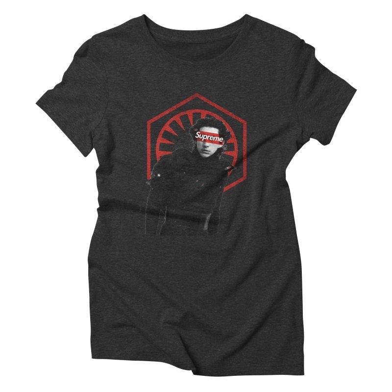 Supreme Leader - Kylo Women's T-Shirt by halfcrazy designs