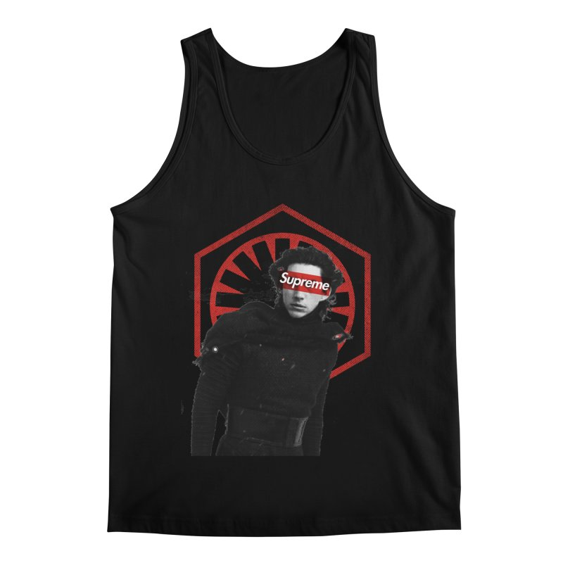 Supreme Leader - Kylo Men's Regular Tank by halfcrazy designs