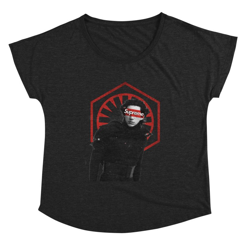 Supreme Leader - Kylo Women's Scoop Neck by halfcrazy designs