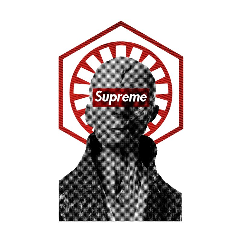 Supreme Leader Men's T-Shirt by halfcrazy designs