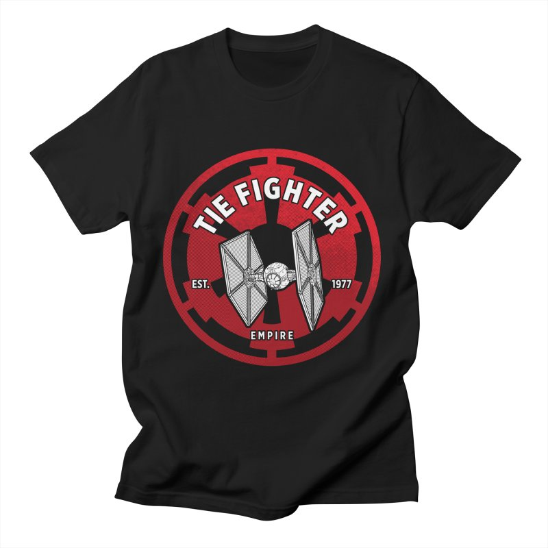 Galactic Empire Fighter Women's T-Shirt by halfcrazy designs