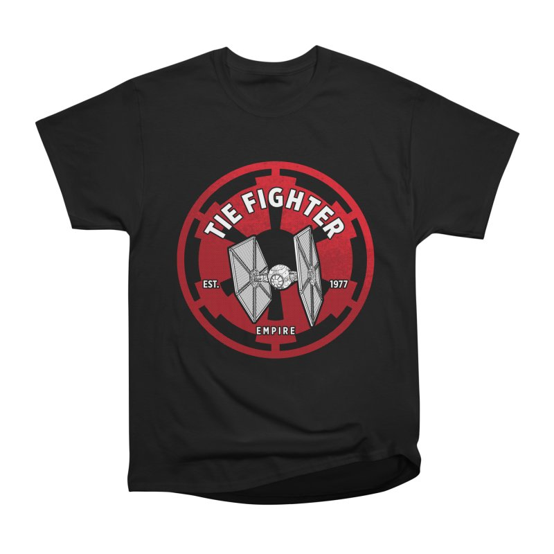 Galactic Empire Fighter Men's Classic T-Shirt by halfcrazy designs