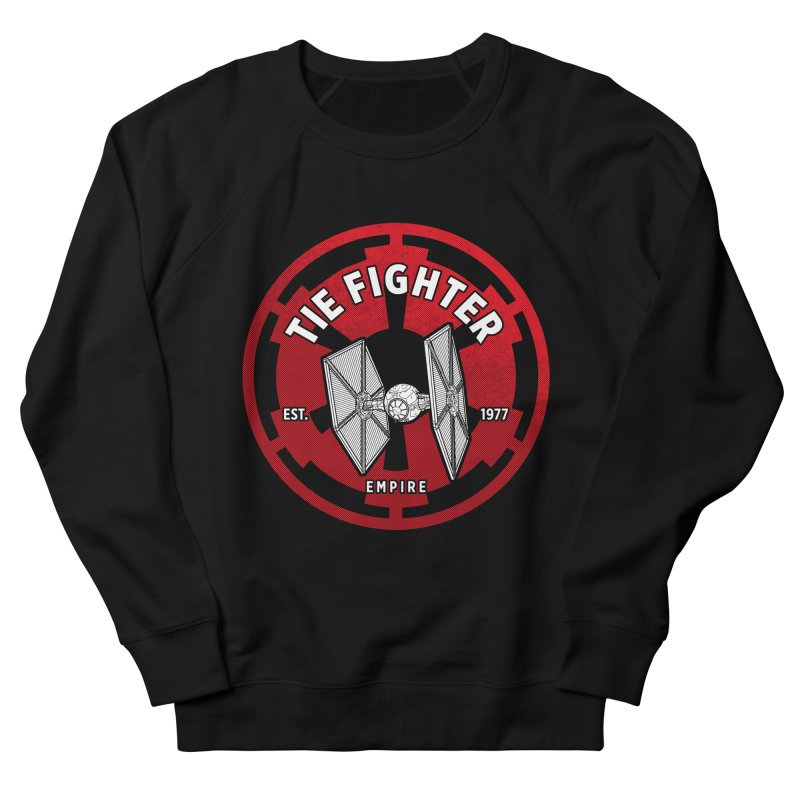 Galactic Empire Fighter Women's French Terry Sweatshirt by halfcrazy designs