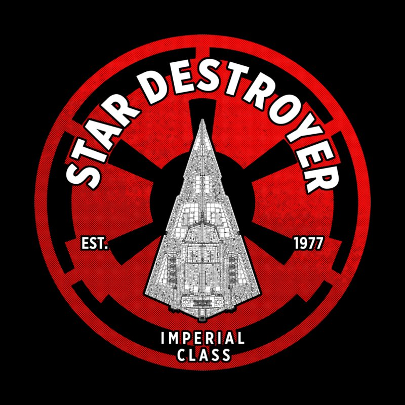 Galactic empire - Destroyer Women's V-Neck by halfcrazy designs
