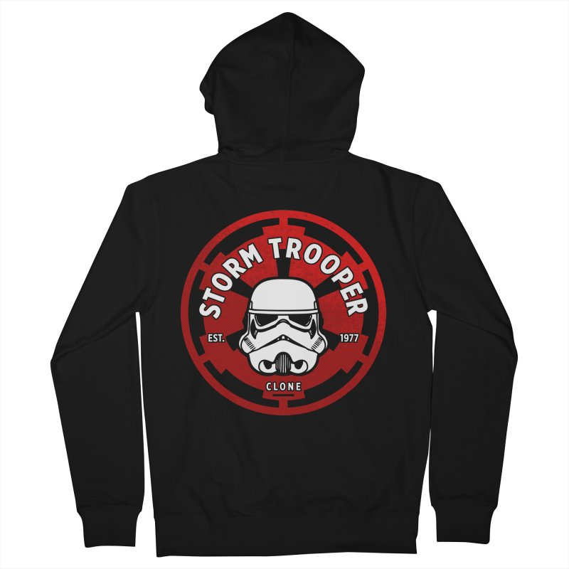 Galactic Empire - Trooper Women's French Terry Zip-Up Hoody by halfcrazy designs