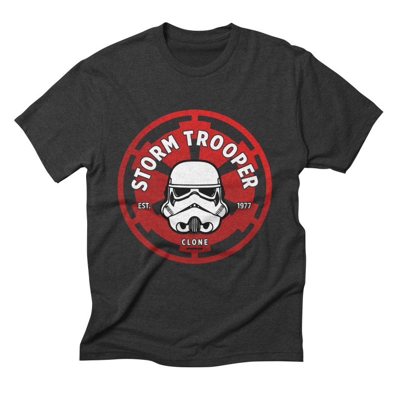 Galactic Empire - Trooper Men's Triblend T-Shirt by halfcrazy designs