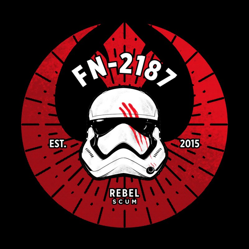 Rebel Scum - Finn Women's V-Neck by halfcrazy designs
