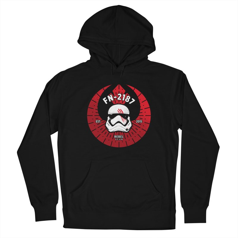 Rebel Scum - Finn Men's Pullover Hoody by halfcrazy designs