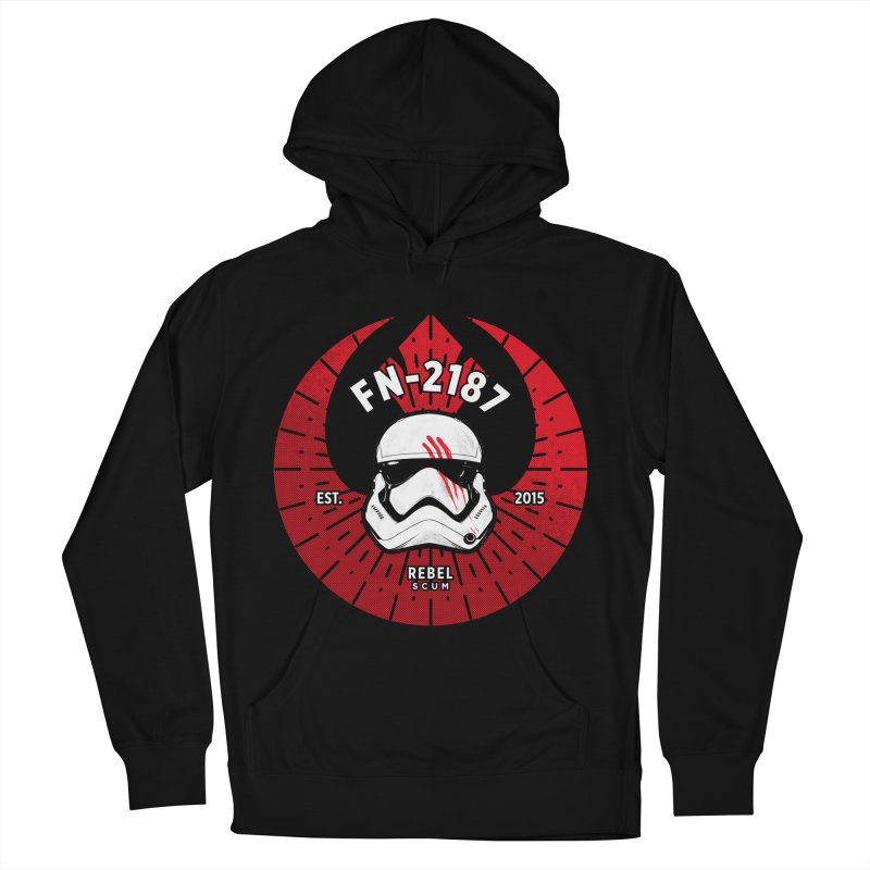 Rebel Scum - Finn Men's French Terry Pullover Hoody by halfcrazy designs