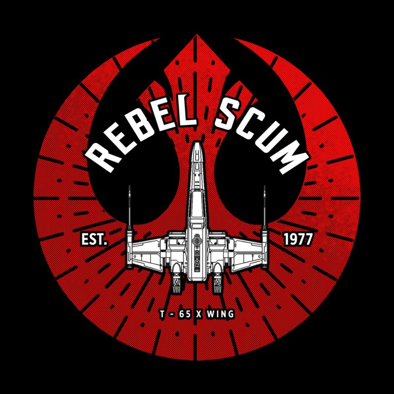 Rebel Scum - X Wing Men's Sweatshirt by halfcrazy designs