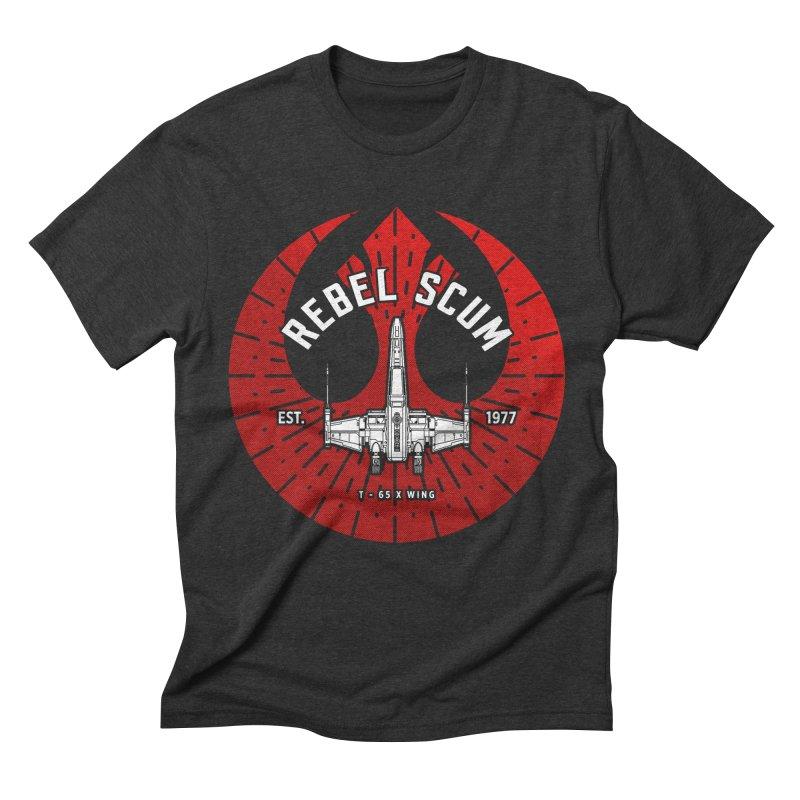 Rebel Scum - X Wing Men's T-Shirt by halfcrazy designs