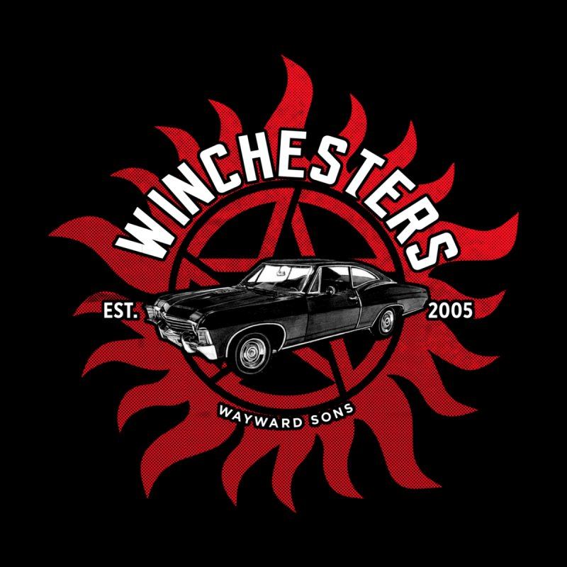 Supernatural - The Winchesters Men's Pullover Hoody by halfcrazy designs