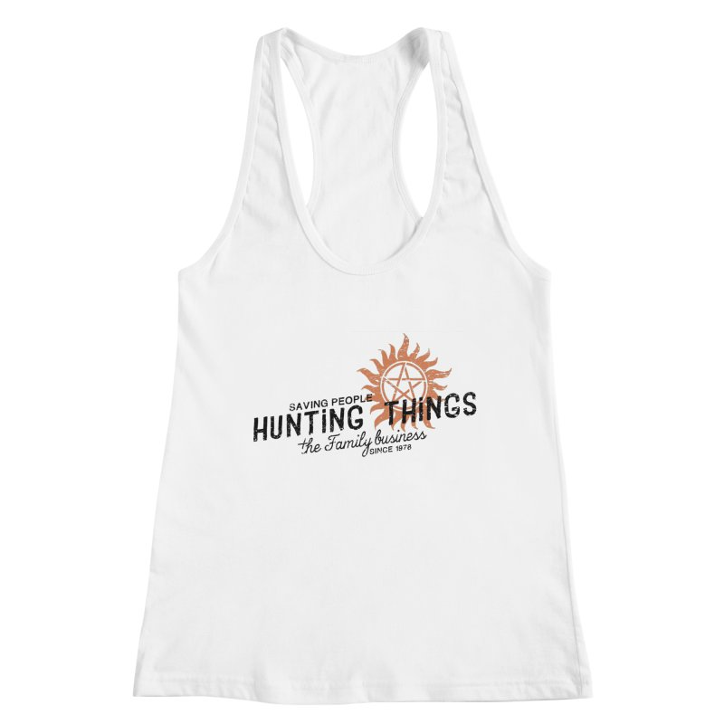The Family Business Women's Tank by halfcrazy designs