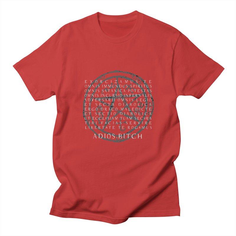 Adios, Bitch! Men's T-Shirt by halfcrazy designs