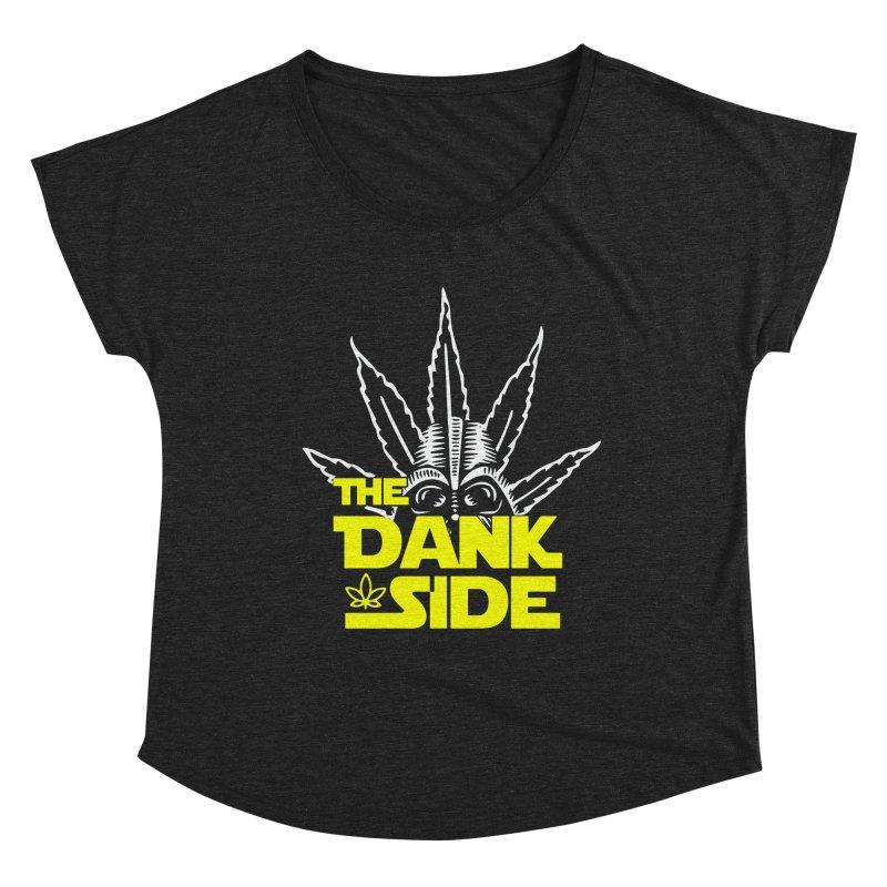 The Dank Side Women's Scoop Neck by halfcrazy designs
