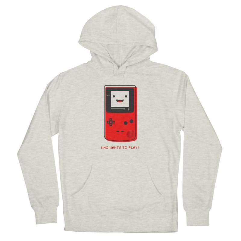 Who wants to play? Men's Pullover Hoody by halfcrazy designs