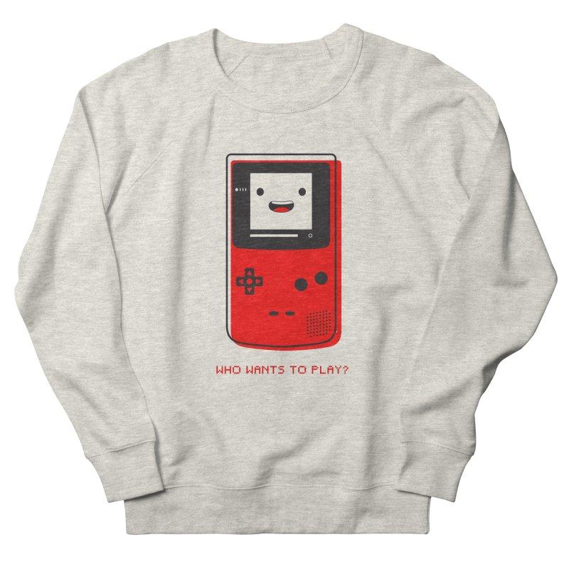 Who wants to play? Men's Sweatshirt by halfcrazy designs