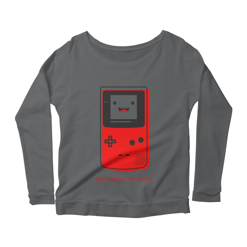 Who wants to play? Women's Longsleeve T-Shirt by halfcrazy designs