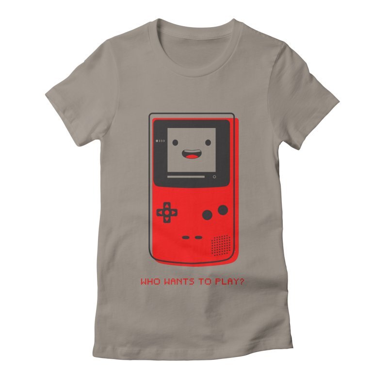 Who wants to play? Women's T-Shirt by halfcrazy designs