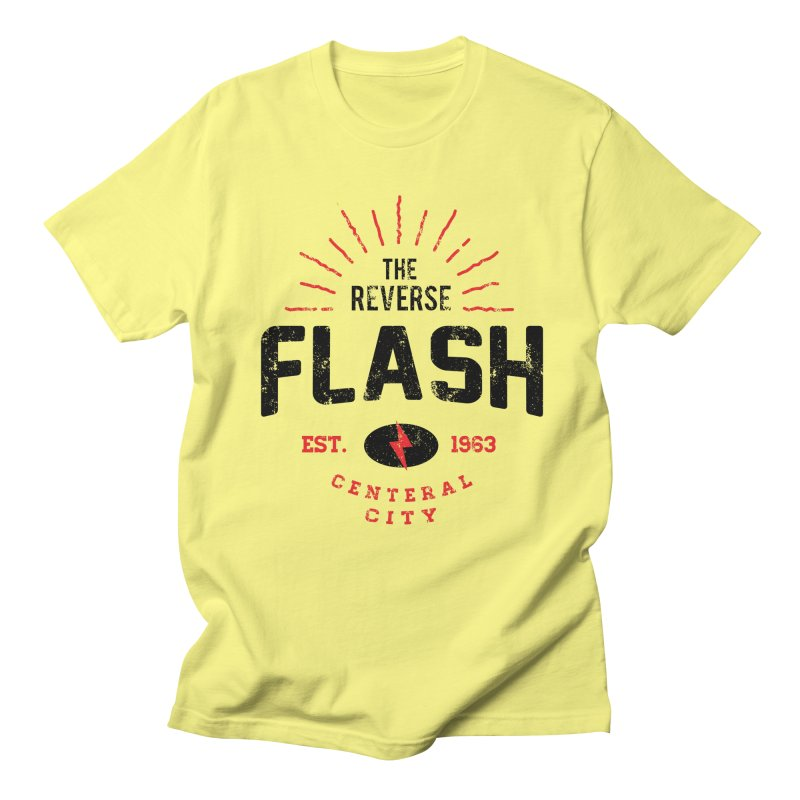 Reverse Speedster Men's T-Shirt by halfcrazy designs