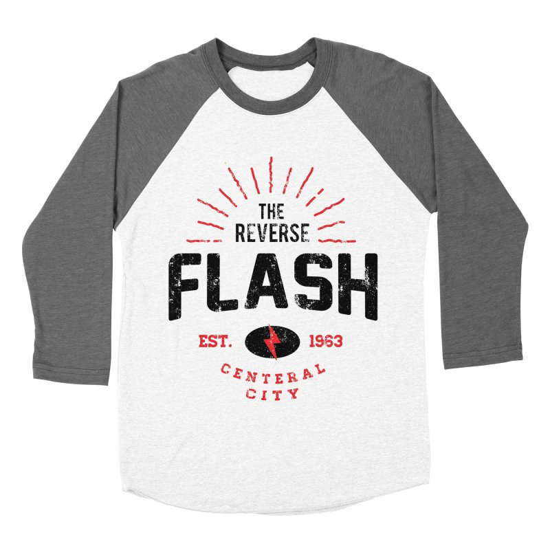Reverse Speedster Women's Baseball Triblend Longsleeve T-Shirt by halfcrazy designs