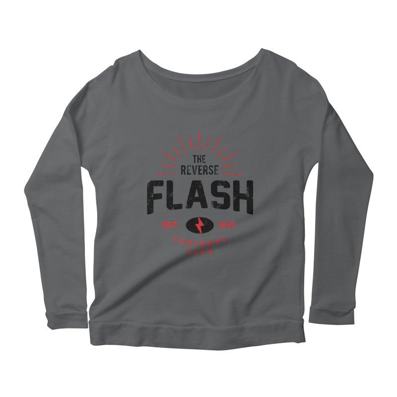 Reverse Speedster Women's Longsleeve T-Shirt by halfcrazy designs
