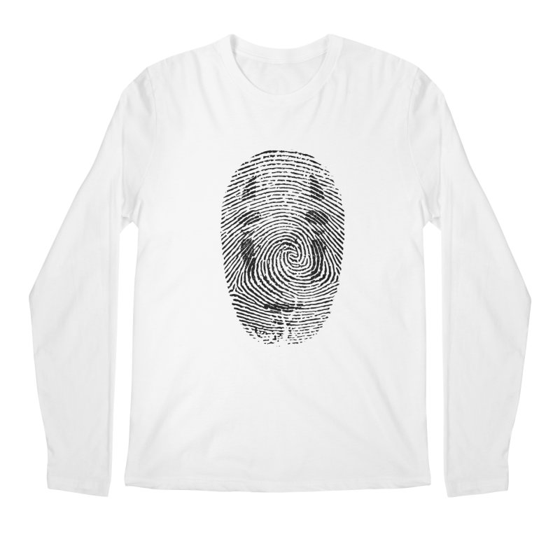 No - Print v2 Men's Regular Longsleeve T-Shirt by halfcrazy designs