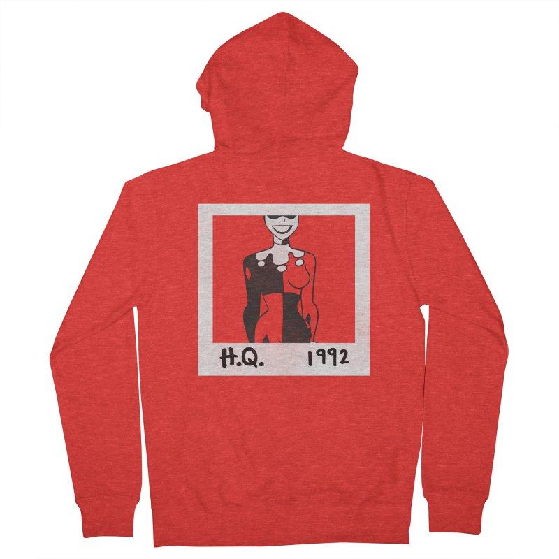 H. Q. - 1992 Women's Zip-Up Hoody by halfcrazy designs