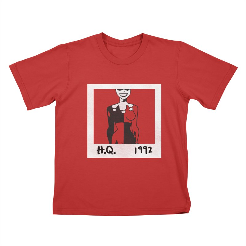 H. Q. - 1992 Kids T-Shirt by halfcrazy designs
