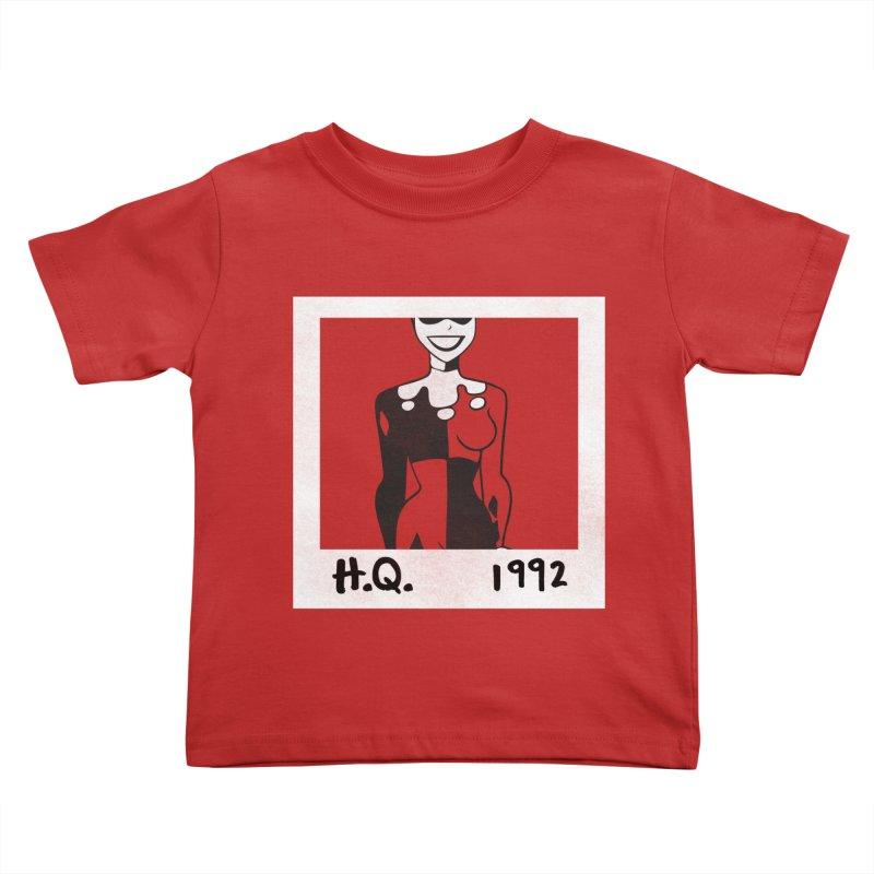 H. Q. - 1992 Kids Toddler T-Shirt by halfcrazy designs