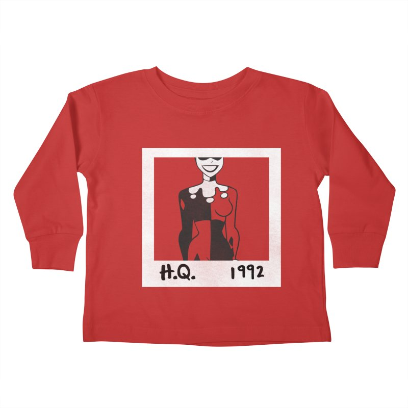 H. Q. - 1992 Kids Toddler Longsleeve T-Shirt by halfcrazy designs