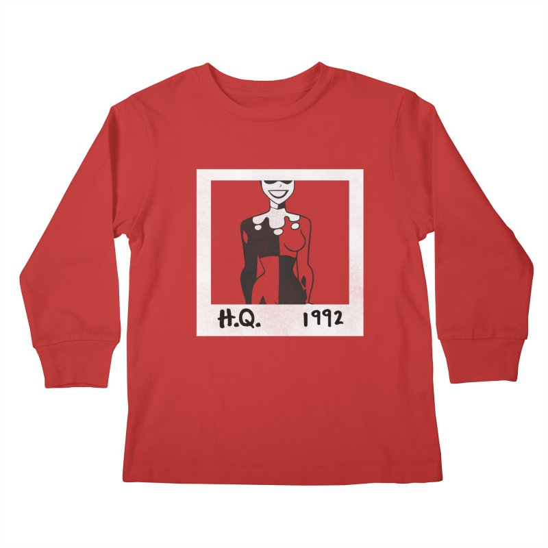 H. Q. - 1992 Kids Longsleeve T-Shirt by halfcrazy designs