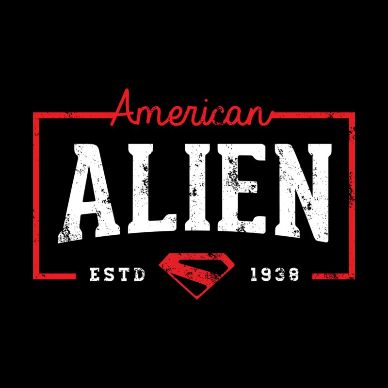 American Alien Kids Longsleeve T-Shirt by halfcrazy designs