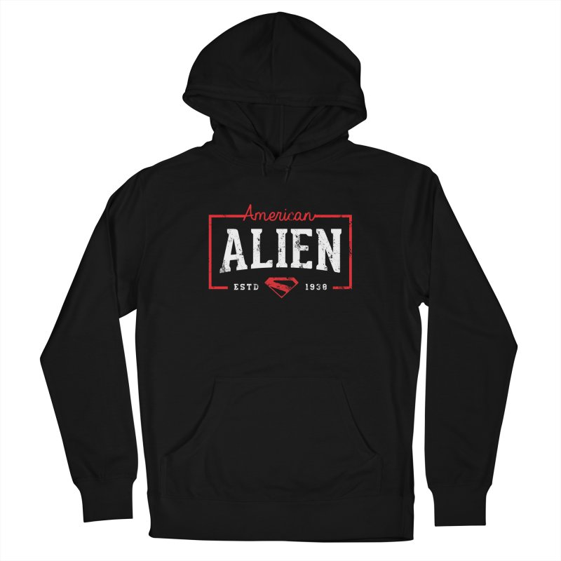 American Alien Men's Pullover Hoody by halfcrazy designs