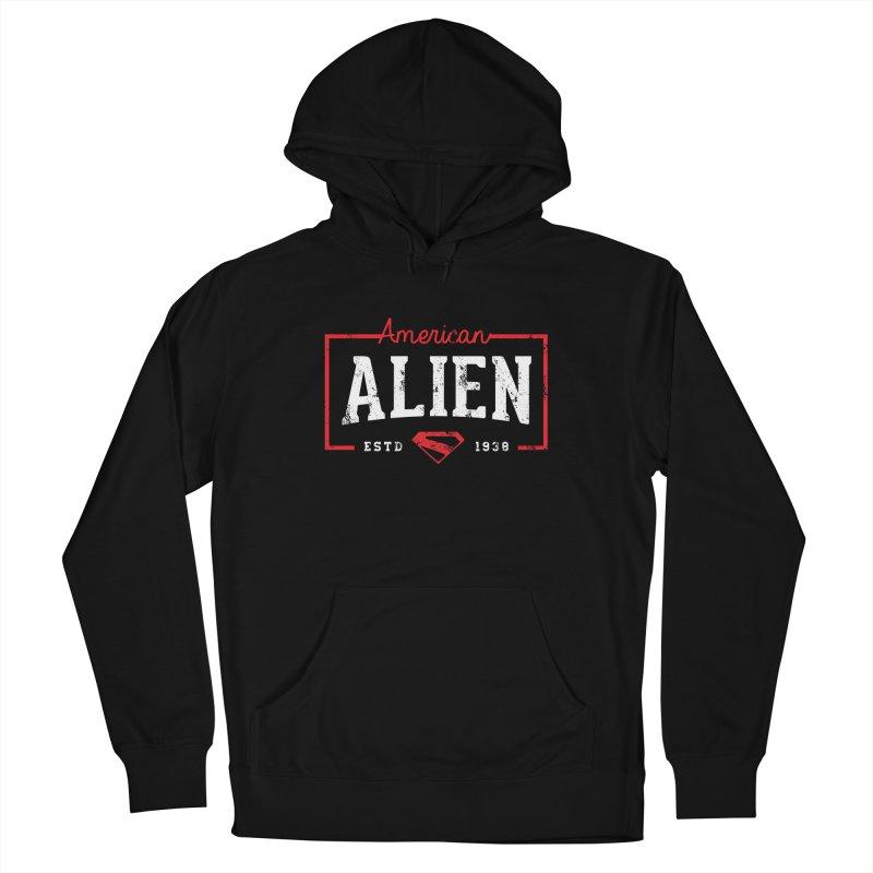 American Alien Women's Pullover Hoody by halfcrazy designs