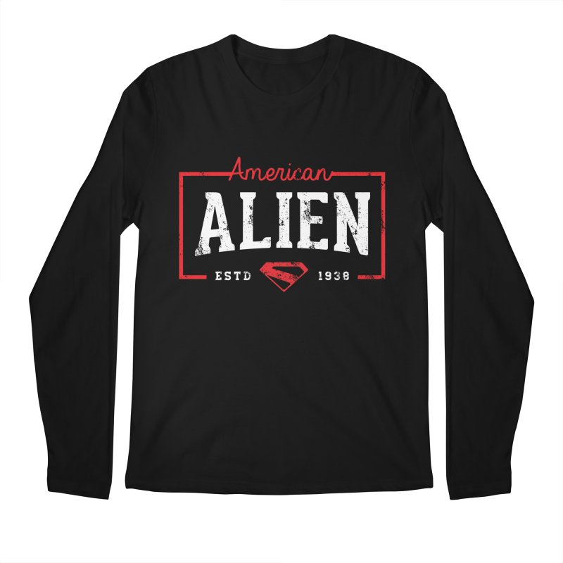 American Alien Men's Regular Longsleeve T-Shirt by halfcrazy designs