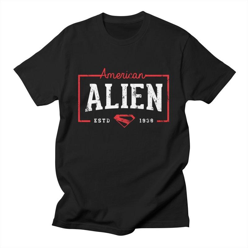American Alien Men's T-Shirt by halfcrazy designs