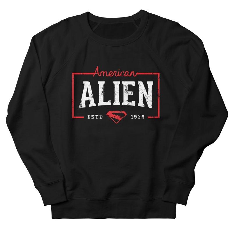 American Alien Men's Sweatshirt by halfcrazy designs