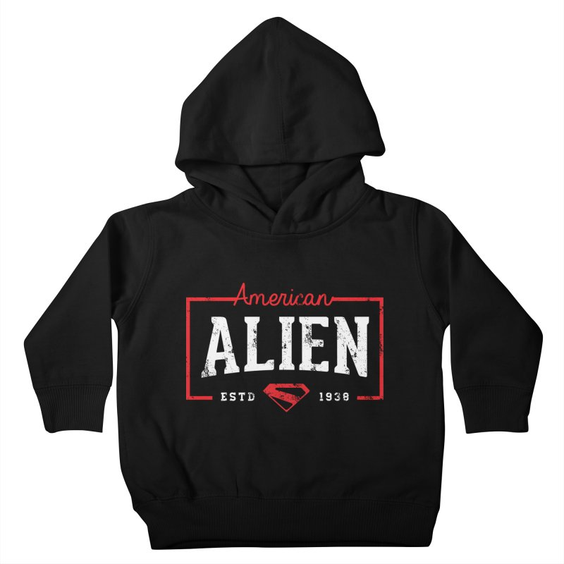 American Alien Kids Toddler Pullover Hoody by halfcrazy designs